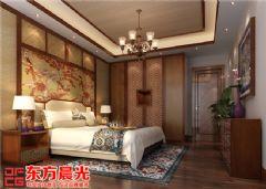 现代中式别墅装修设计赏心悦目中式卧室装修图片