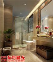 现代中式别墅装修设计赏心悦目中式卫生间装修图片
