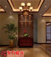现代中式别墅装修设计赏心悦目中式客厅装修图片