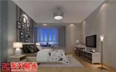 整套别墅简约中式装修设计图中式卧室装修图片