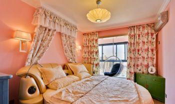 中式田园温馨家田园卧室装修图片