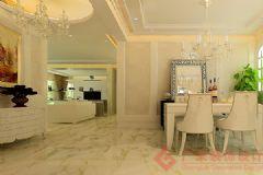玺萌长河印象装修案例——烟台广来装饰欧式客厅装修图片