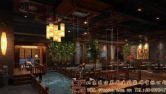 唯美优雅的中式会所装修设计效果图酒店装修图片