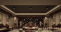 时尚高雅的中式会所装修设计效果图酒店装修图片