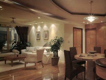 家居客厅吊顶效果图现代客厅装修图片