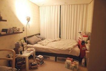 单身公寓设计图简约卧室装修图片