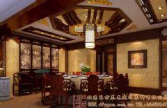古朴清新的中式会所设计案例会所装修图片