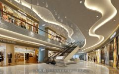 天霸设计2015年商场装修图片案例分享商场装修图片