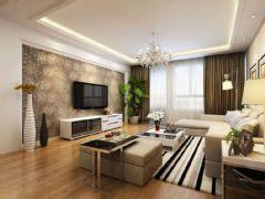 中锐姑苏尚城90平方3居室现代简约效果图现代风格小户型