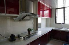 中锐姑苏尚城90平方3居室现代简约效果图现代厨房装修图片