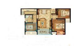 中锐姑苏尚城90平方3居室现代简约效果图现代其它装修图片