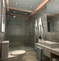 中锐姑苏尚城90平方3居室现代简约效果图现代卫生间装修图片