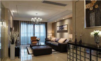 132平现代简约品味居现代客厅装修图片