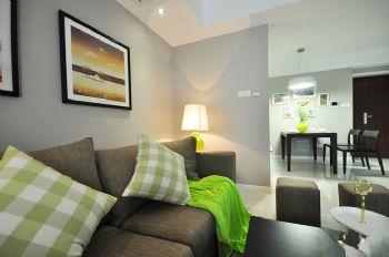 112平现代简约居现代客厅装修图片