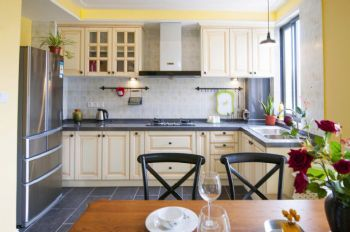 浪漫温馨厨房装修案例现代厨房装修图片