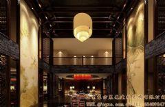 高档时尚的中式会所装修设计案例