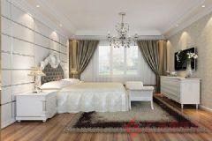 香缇熙岸装修案例——烟台广来装饰欧式风格三居室