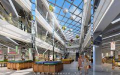 从购物中心效果图上探讨设计的专业水准商场装修图片