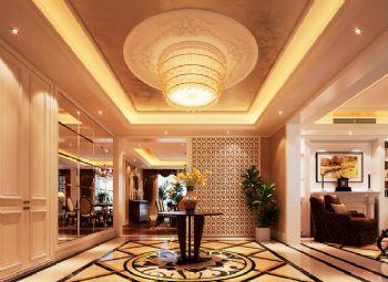 330平欧式奢华豪宅欧式客厅装修图片