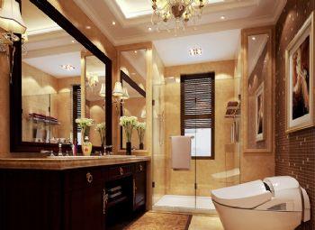 330平欧式奢华豪宅欧式卫生间装修图片