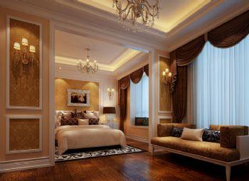 330平欧式奢华豪宅欧式卧室装修图片