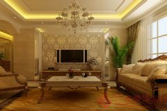 君悦湾装修案例——烟台广来装饰现代卧室装修图片