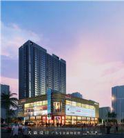 邀您品评天霸设计最新一拨城市综合体效果图商场装修图片