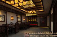 内涵古典的中式会所装修设计案例效果图会所装修图片