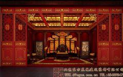 高端典雅的中式会所装修效果图
