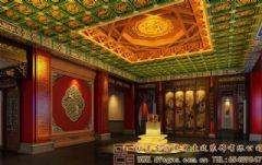 高端典雅的中式会所装修效果图会所装修图片