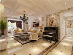 成都尚层装饰别墅装修设计师欧美风格案例推荐(五)欧式风格别墅