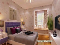 成都尚层装饰别墅装修设计师欧美风格案例推荐(五)欧式卧室装修图片