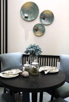 124平新中式品味家中式餐厅装修图片