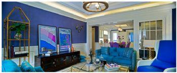 178平美式清新装修案例美式客厅装修图片