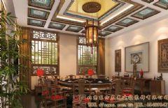 悠然清新的中式会所装修设计效果图会所装修图片