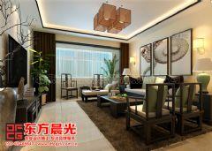 新中式别墅装修设计案例雅韵浓中式风格别墅