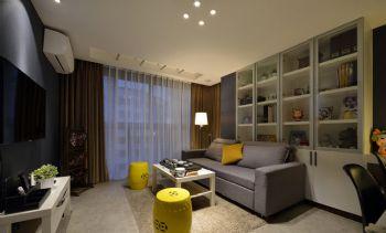78平现代极品时尚居现代客厅装修图片