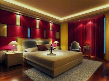 个性时尚婚房设计现代卧室装修图片