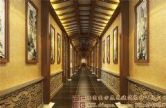 典雅贵气的中式会所装修设计效果图会所装修图片