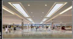 分享大量高清城市综合体效果图商场装修图片