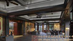 舒适典雅的中式会所装修设计会所装修图片