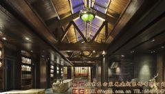 舒适典雅的中式会所装修设计