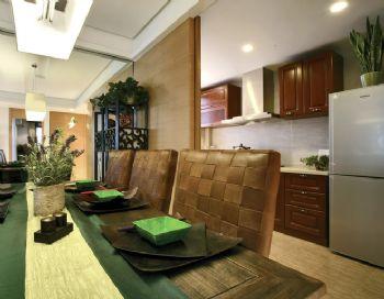 114平东南亚风格装修案例东南亚厨房装修图片