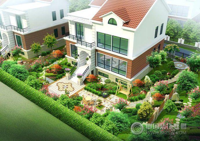 设计方案打造专属别墅庭院生活-客厅装修效果图-八六