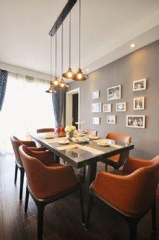 113平中式美式宜居中式餐厅装修图片