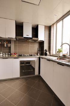 113平中式美式宜居中式厨房装修图片