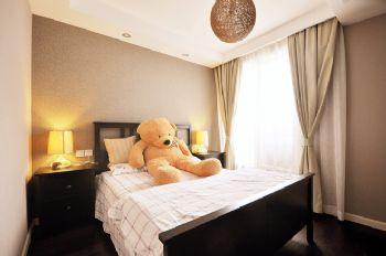 113平中式美式宜居中式卧室装修图片