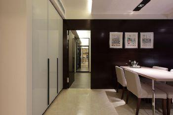 84平现代风格装修案例现代餐厅装修图片