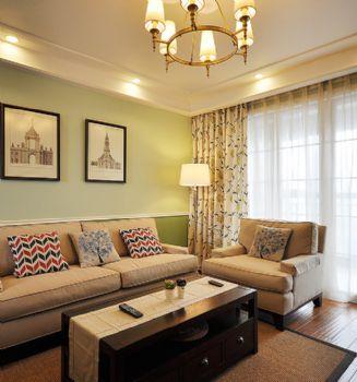 96平简约中式环保公寓