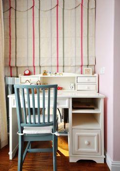 96平简约中式环保公寓简约儿童房装修图片